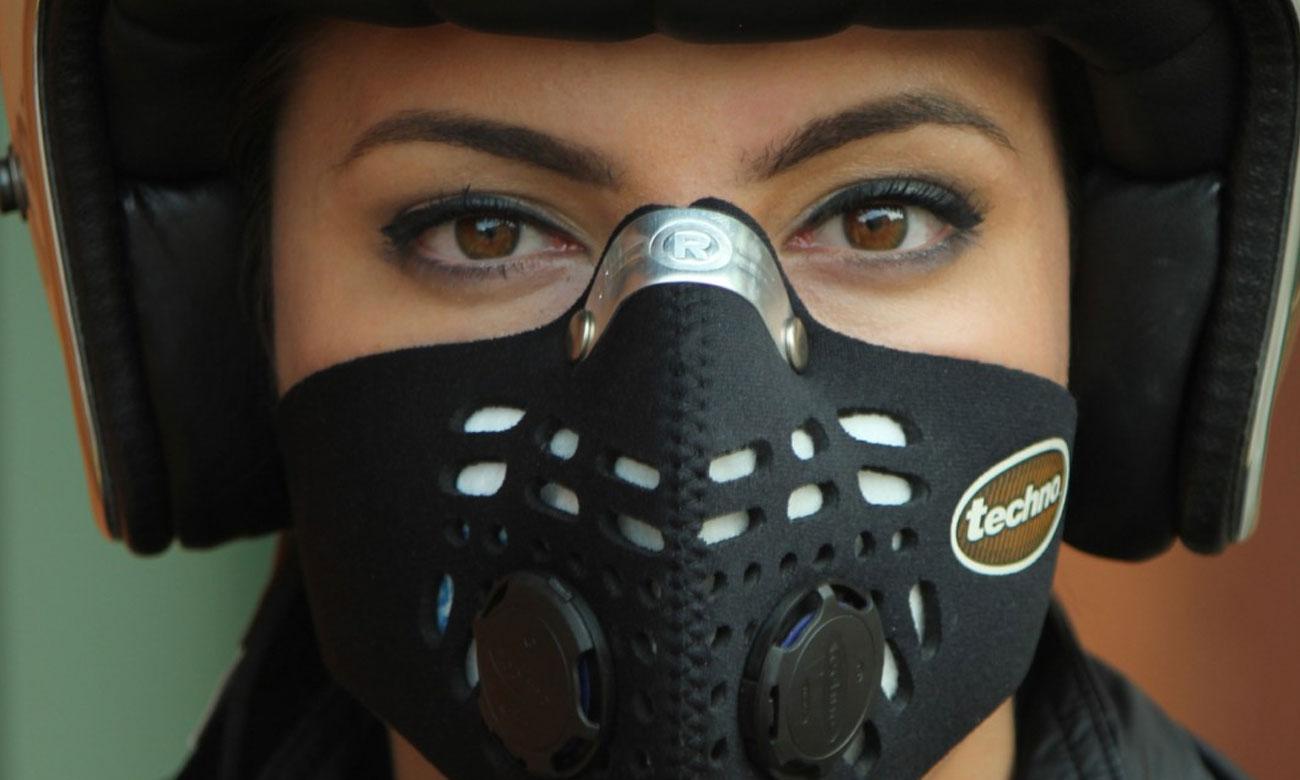 Antysmogowa maska Respro Techno black M