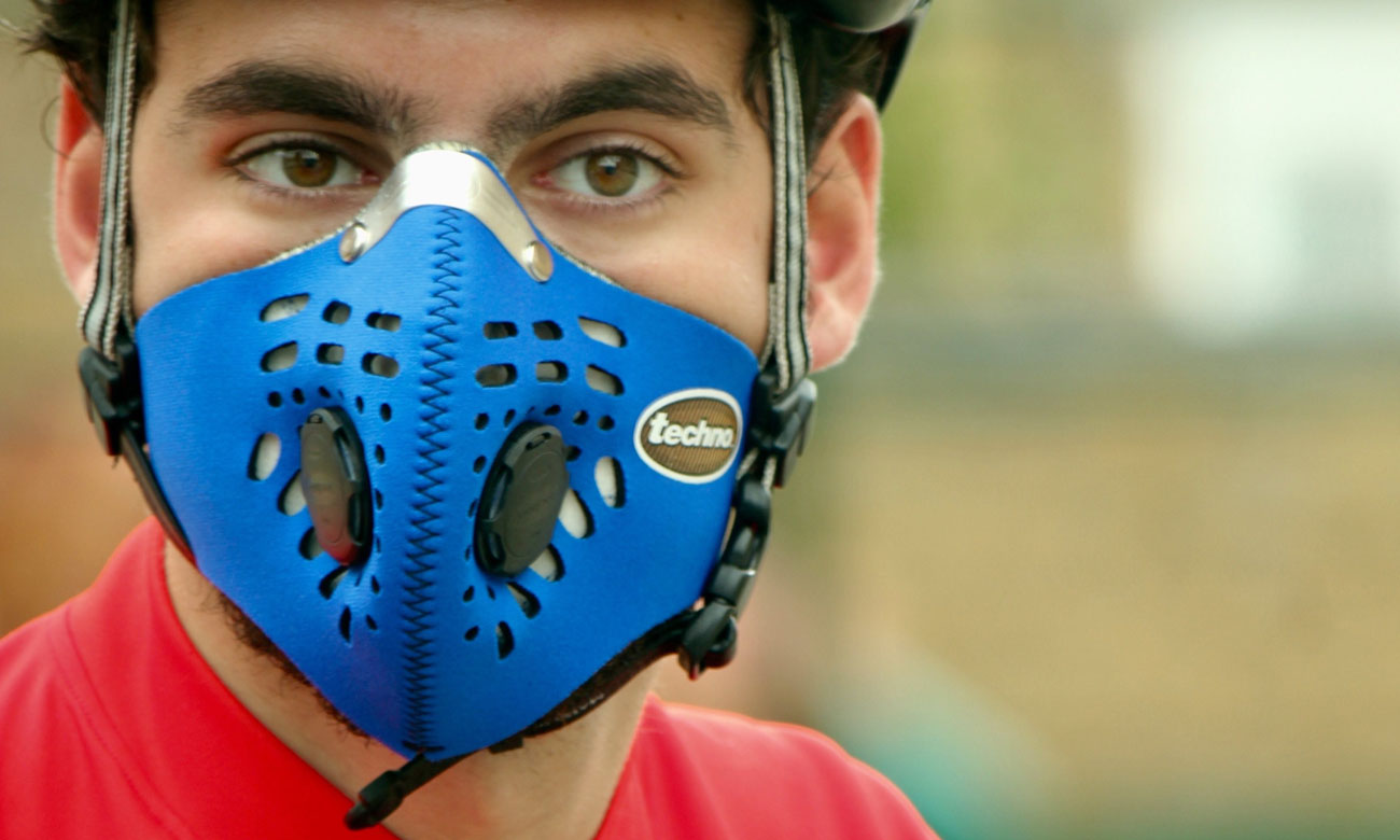 Antysmogowa maska Respro Techno blue M