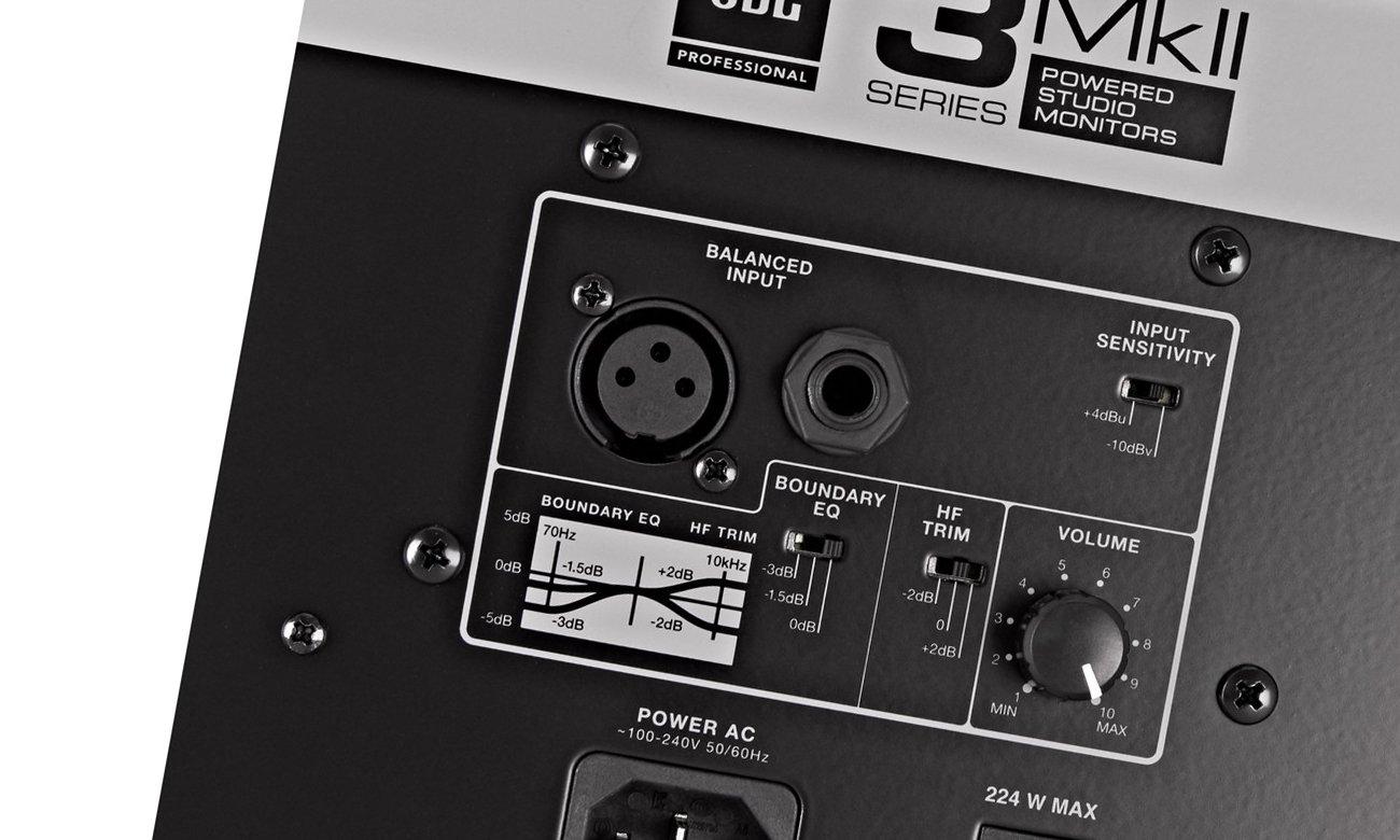 Przystępne cenowo monitory studyjne JBL 308P MKII