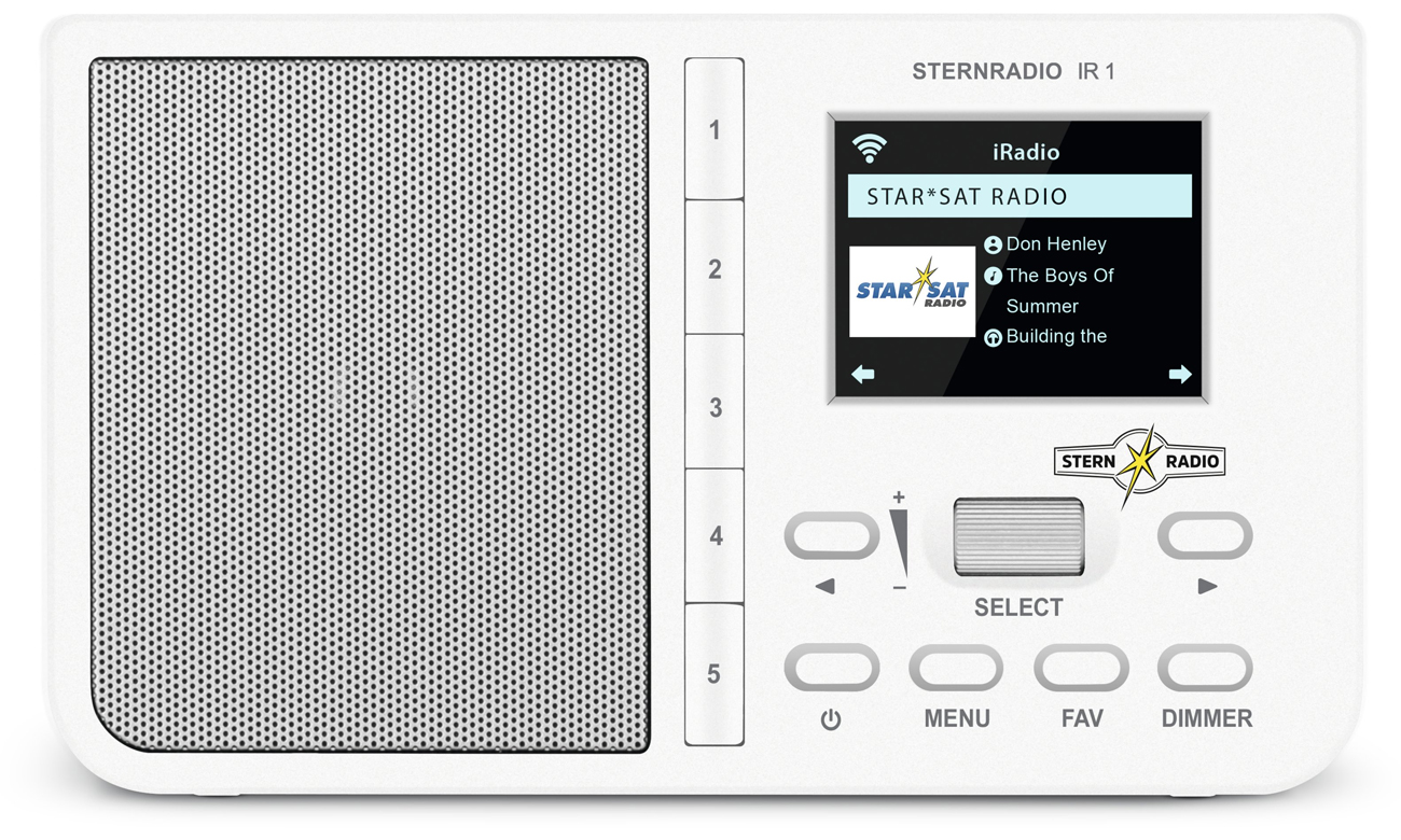 Radio internetowe TechniSat STERNRADIO IR 1