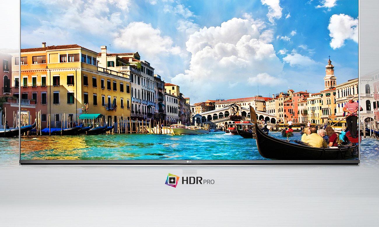 Telewizor LG 55UH6257 z systemem webOS