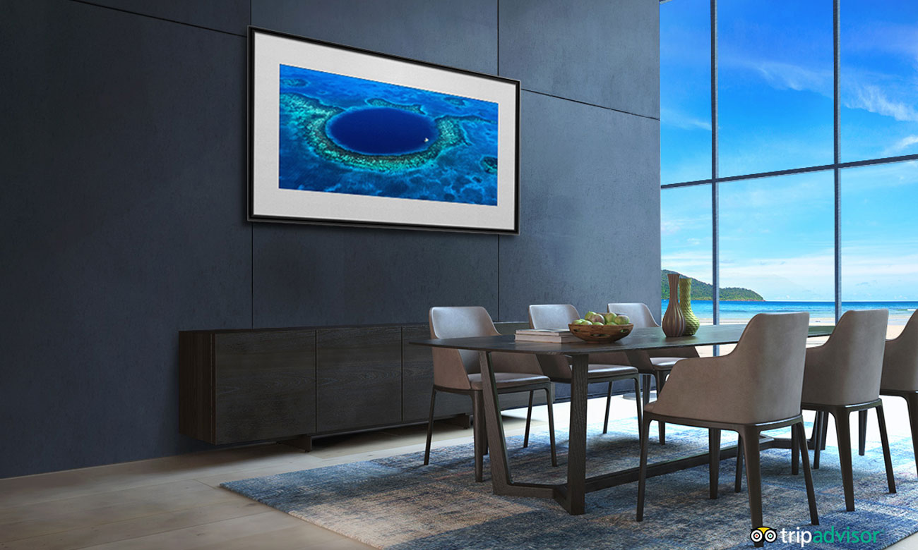 Tryb galerii w telewizorze OLED LG OLED65B8