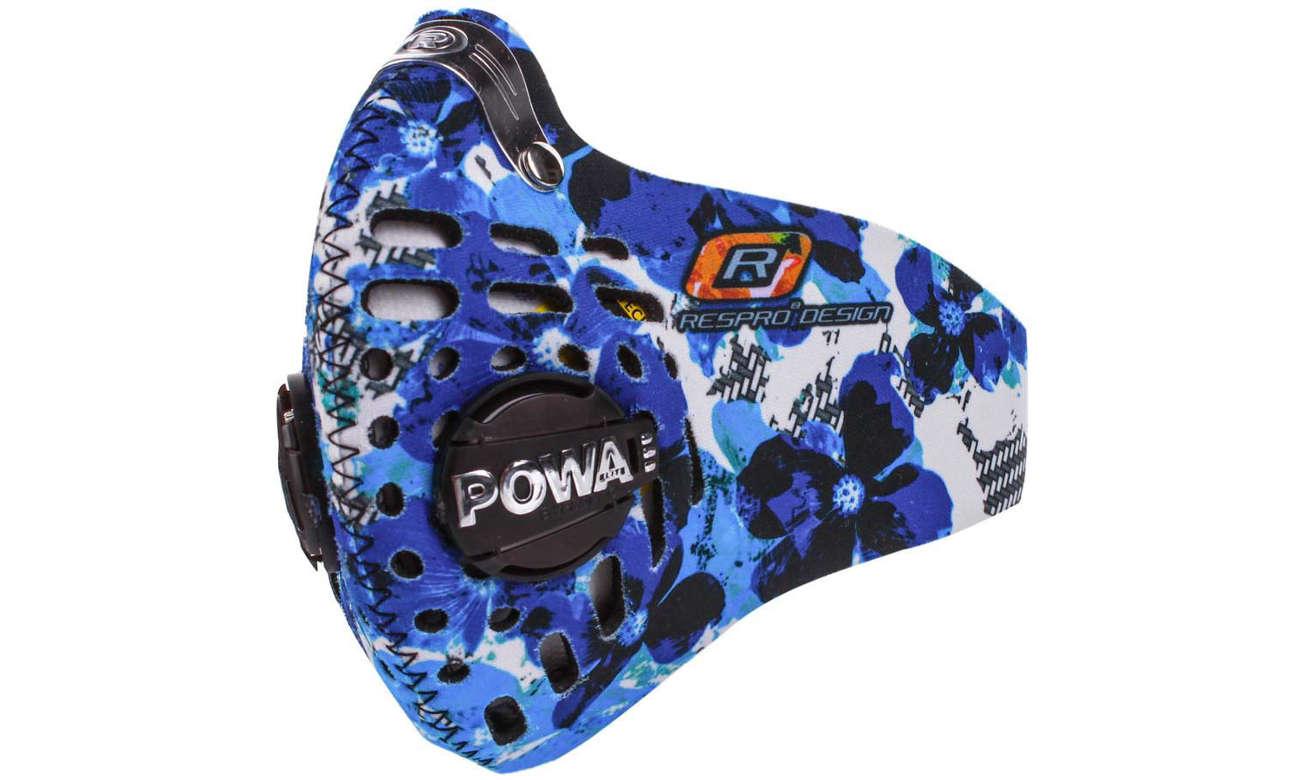 Maska Respro Skin Petal Blue XL
