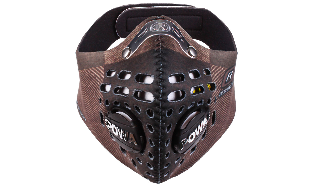 Antysmogowa maska Respro Skin Herringbone L
