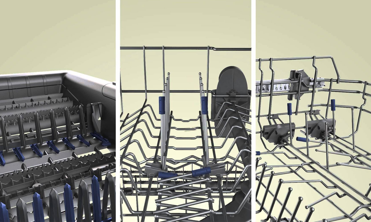 Szuflada Vario3 w Bosch SMV46KX00E