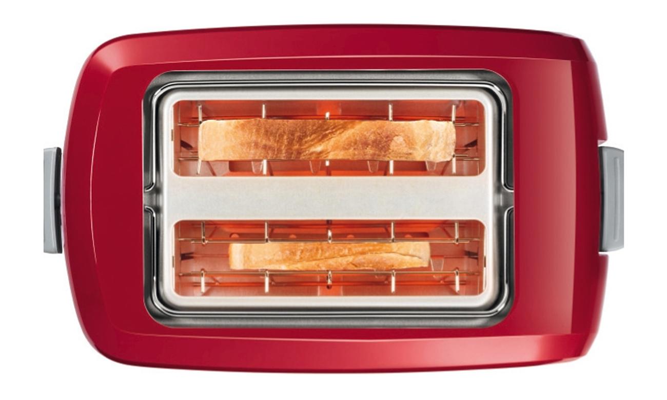 Toster Bosch TAT3A014 980W czerwony tacka na okruchy ruszt do podpiekania