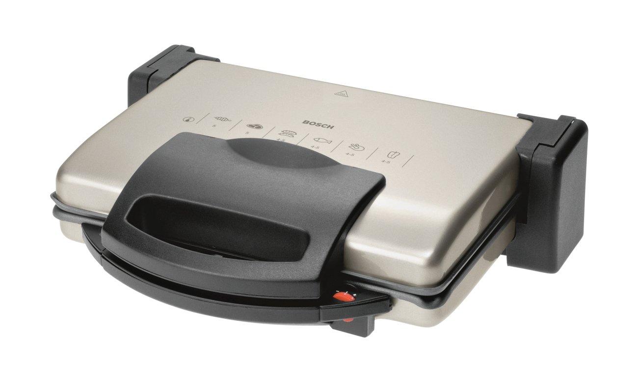 Grill elektryczny Bosch TFB3302V 1800W srebrno-czarny