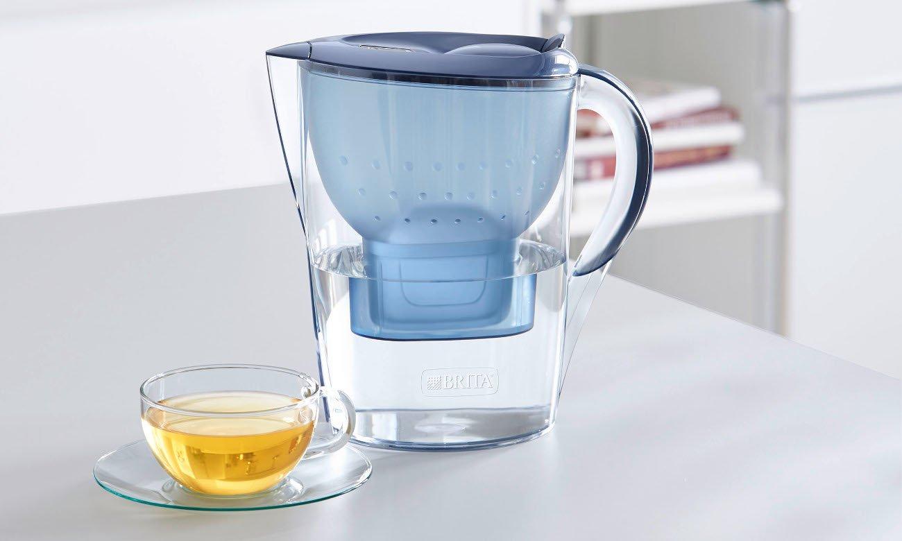 Dzbanek filtrujący Brita Marella XL MX Plus morski błękit
