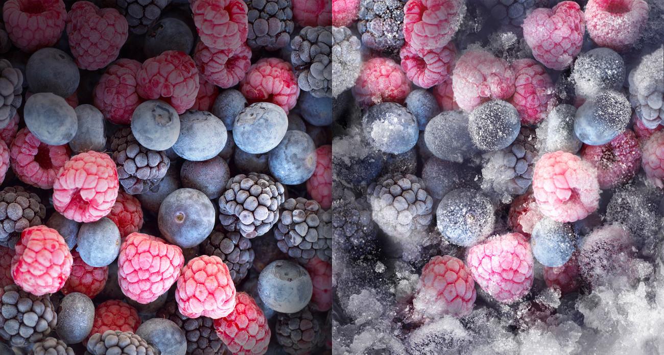 Lodówka Candy CKBBF182 posiada system nofrost