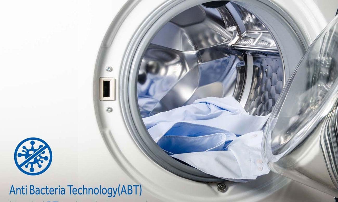 Czyste wnętrze, dzięki technologii ABT w pralce Haier HW60-1211N