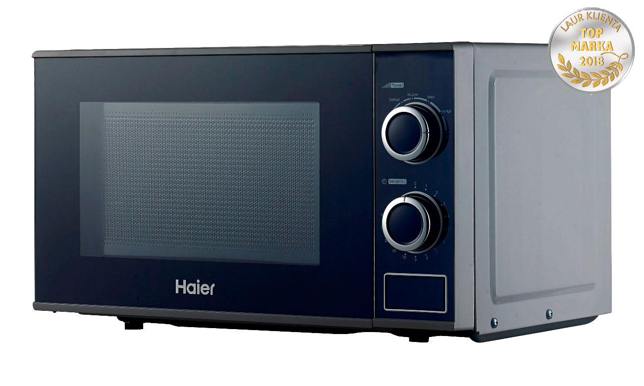 6 poziomów mocy w kuchence mikrofalowej Haier HGN-2070MS