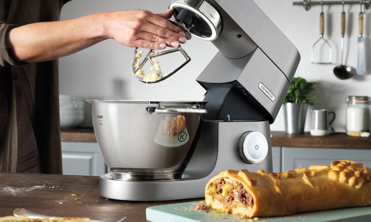 Robot wielofunkcyjny z misą Kenwood Chef Titanium KVC7320S