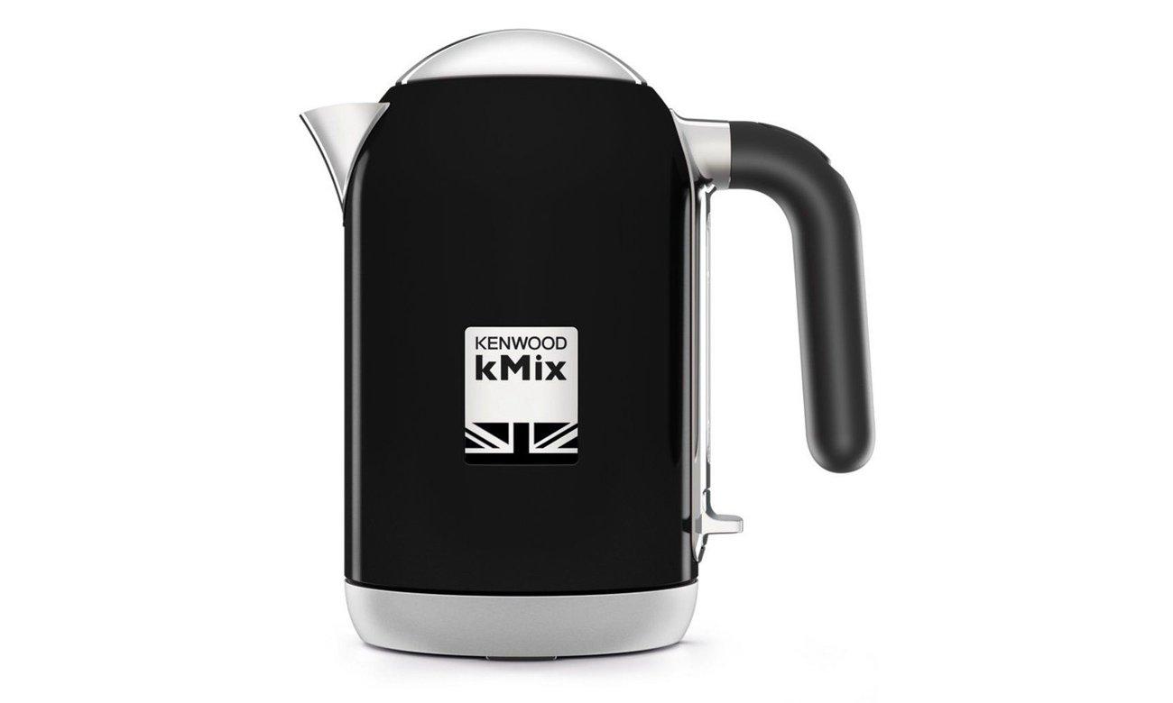 Czajnik elektryczny Kenwood ZJX650BK 1L 2200W zapewnia szybkie gotowanie wody