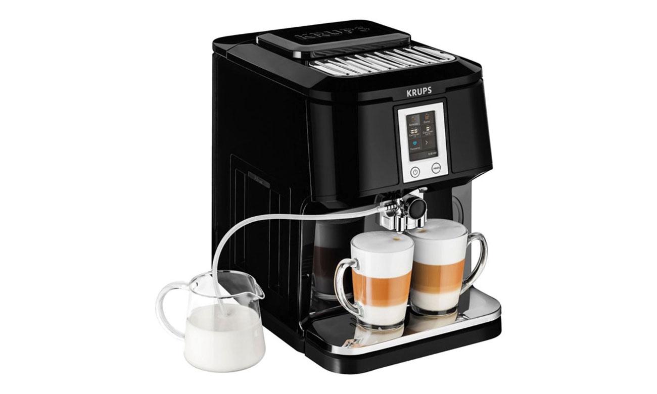 Ekspres do kawy Krups EA8808 posiada praktyczne funkcje
