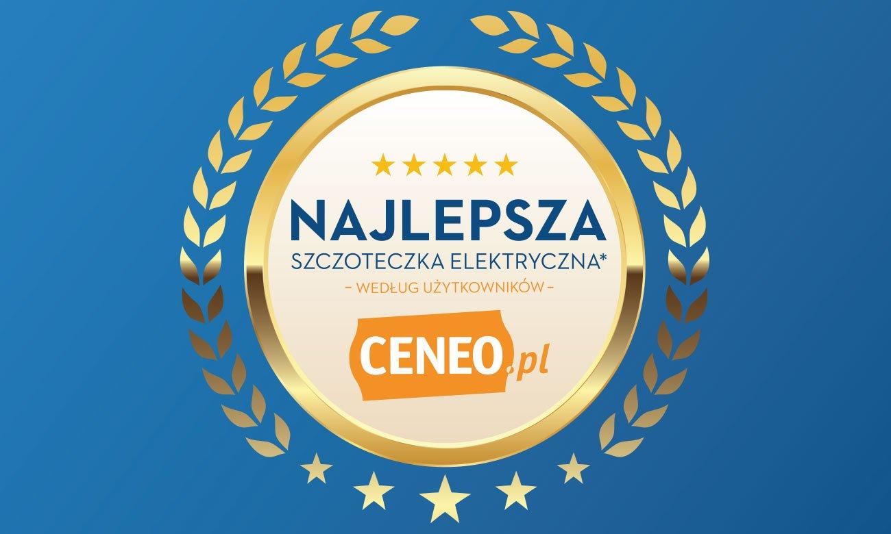 Odznaka Ceneo dla Oral-B Genius