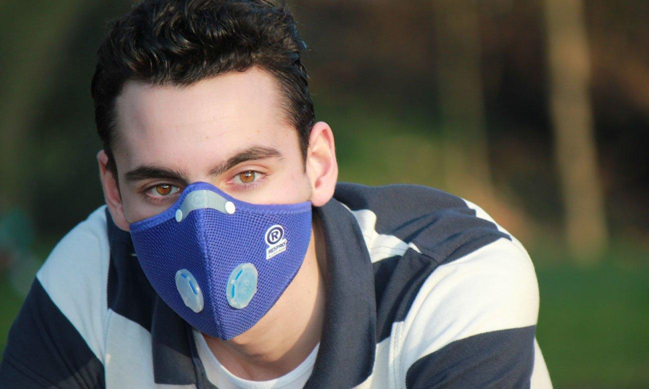 Maska Respro Allergy Blue S