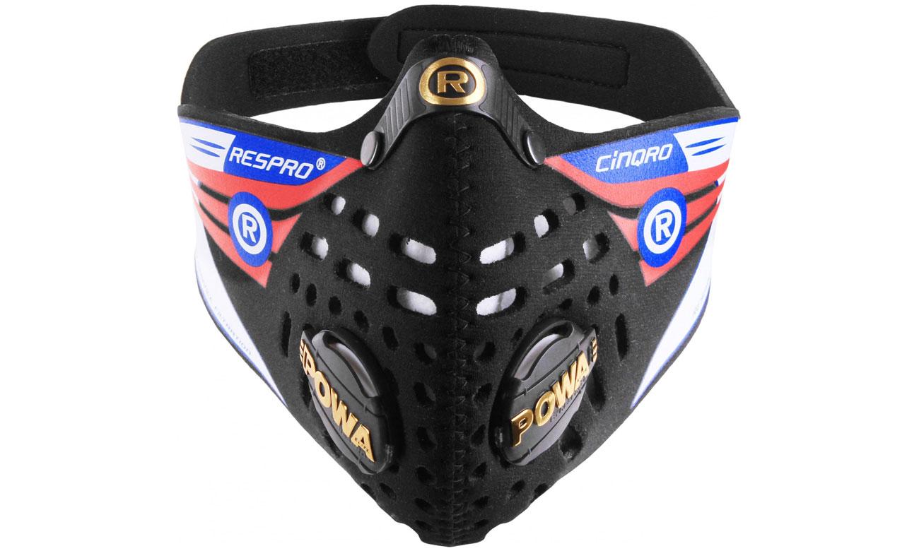 Maska Respro Cinqro black L
