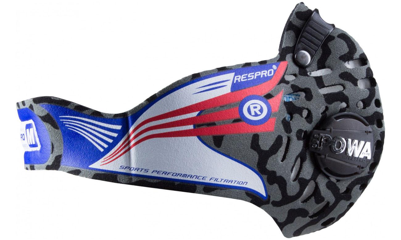 Maska przeciwsmogowa Respro Cinqro camo M