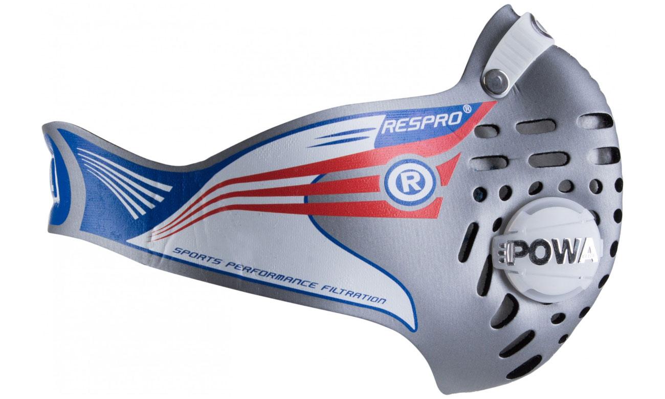 Maska przeciwsmogowa Respro Cinqro silver L