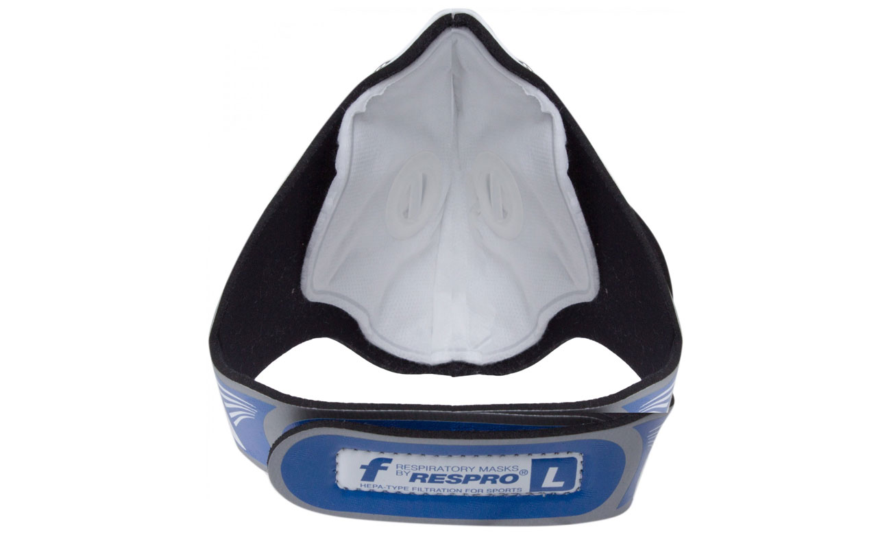 Maska antysmogowa Respro Cinqro silver L