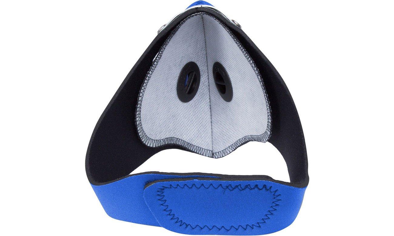 Maska antysmogowa Respro City niebieska L