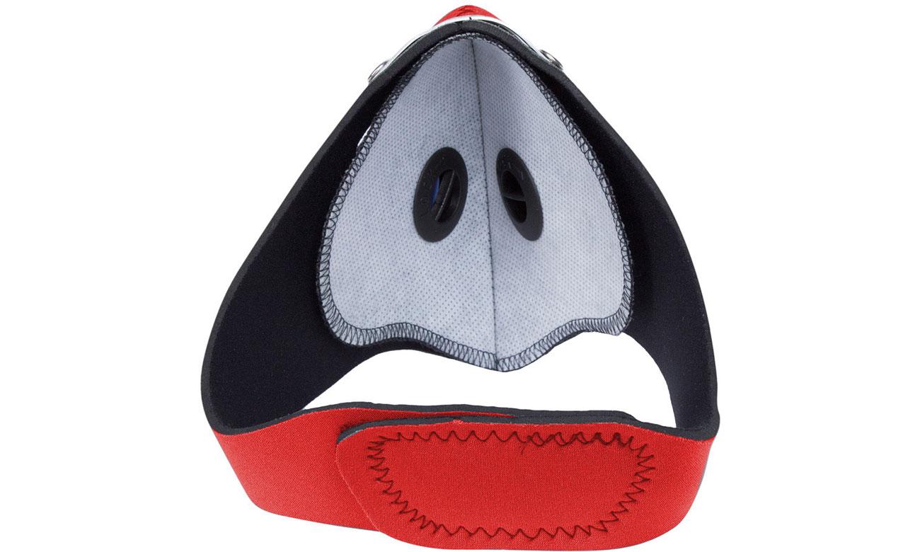 Maska antysmogowa Respro City czerwona M