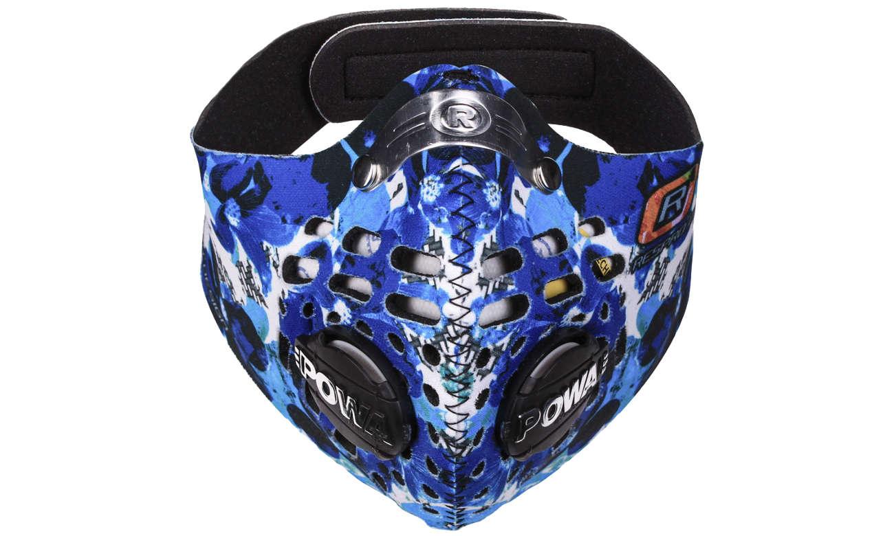 Antysmogowa maska Respro Skin Petal Blue rozmiar XL