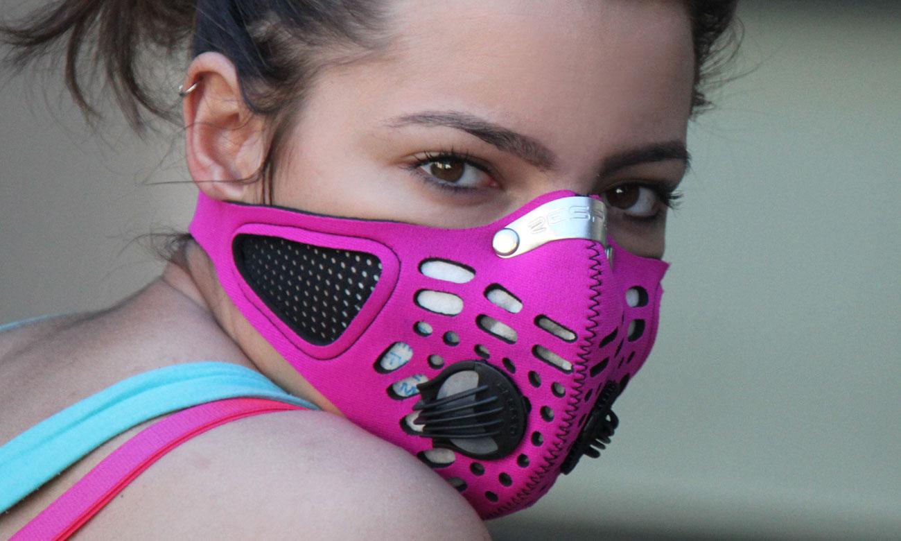 Maska Respro Sportsta pink M