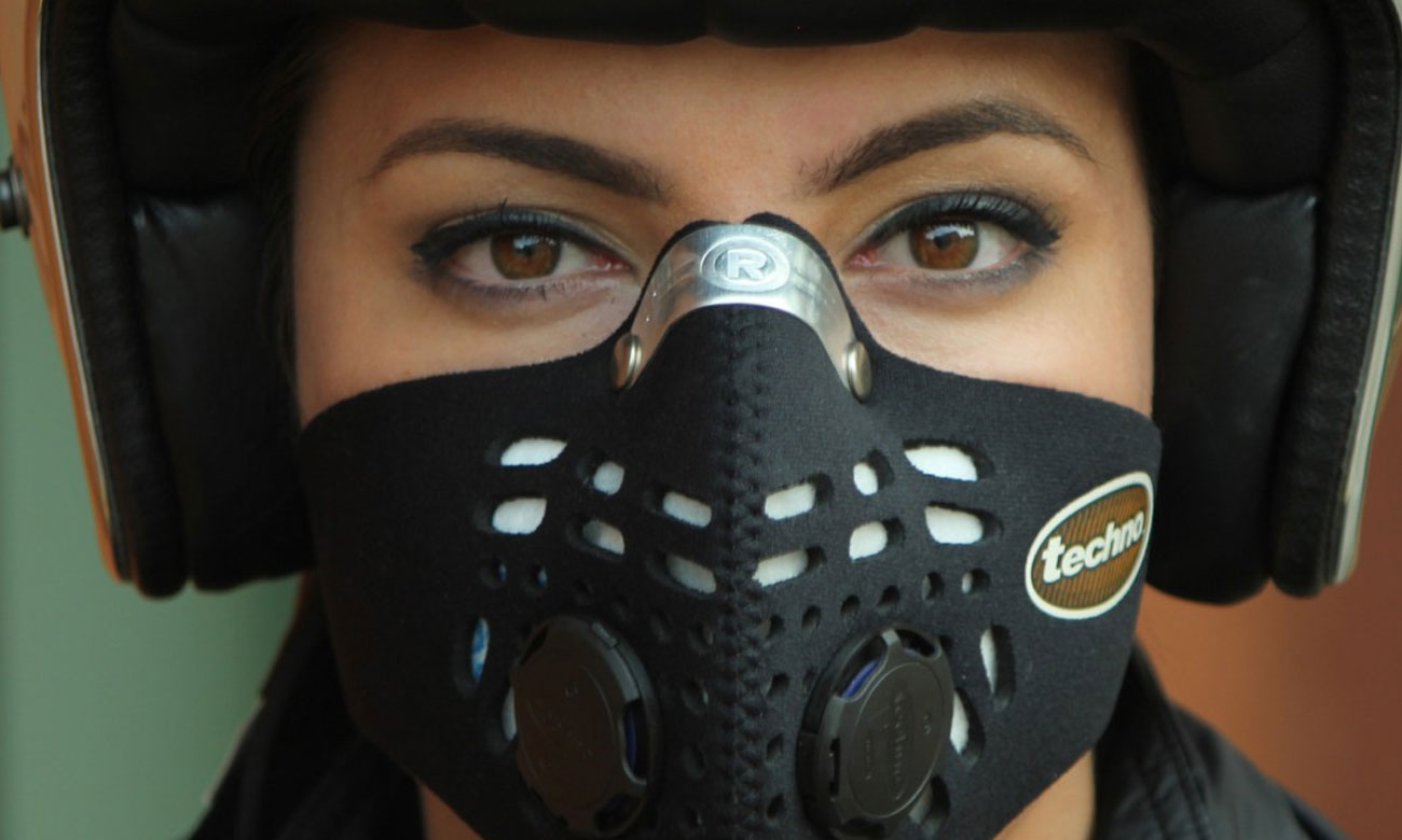Maska Respro Techno black L