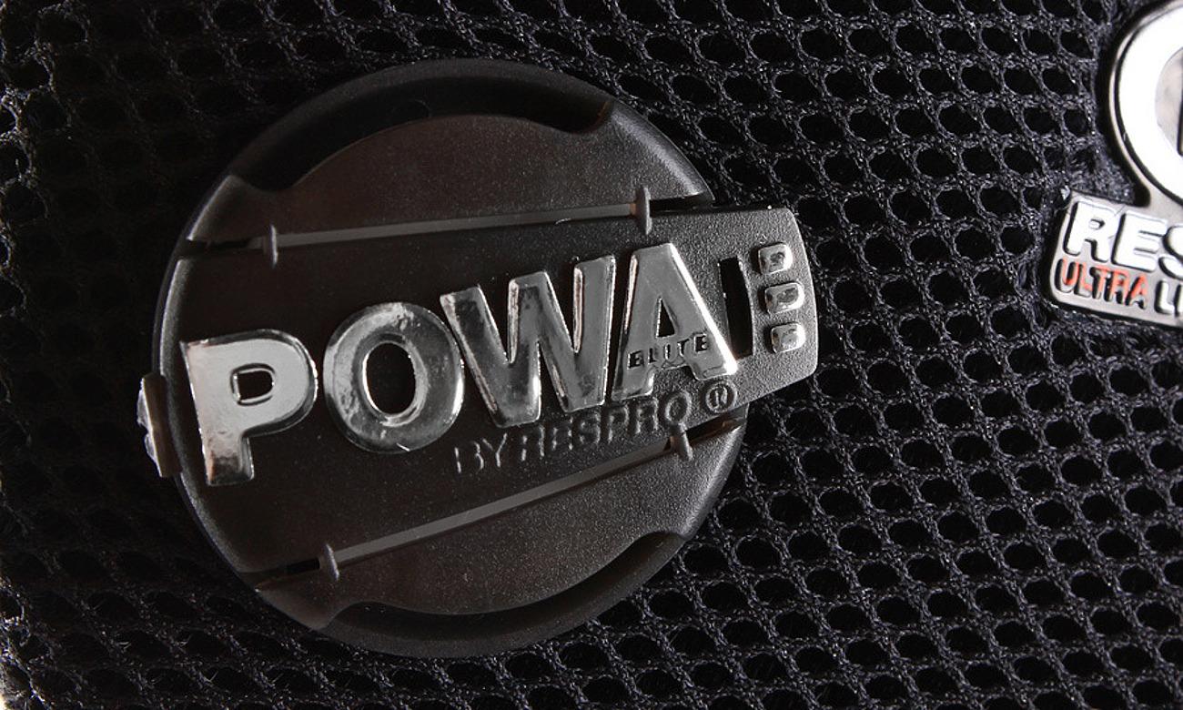 Respro Ultralight black S posiada zawory Powa Elite