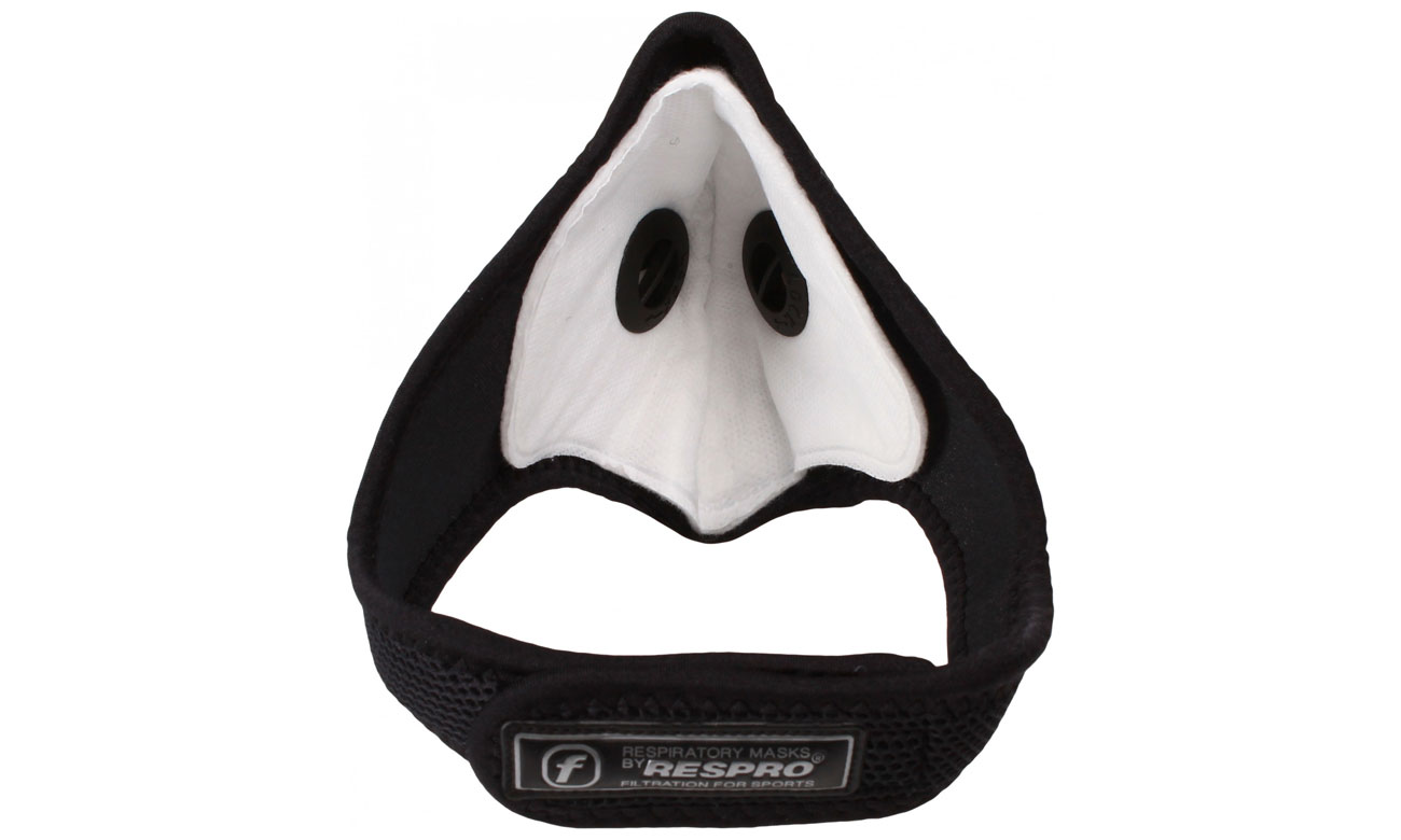 lekka i wygodna maska antysmogowa Respro Ultralight black S
