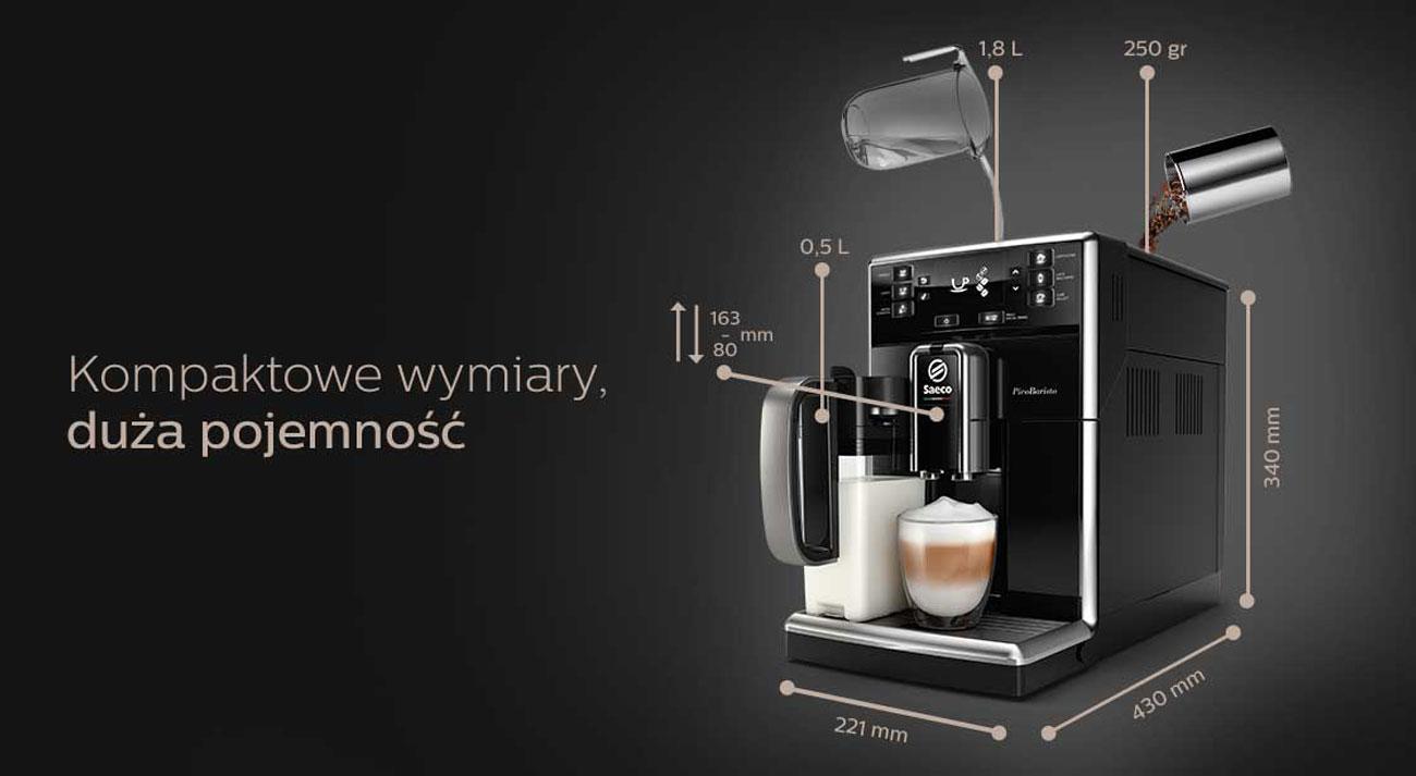 Automatyczny ekspres do kawy Saeco PicoBaristo SM5470/10
