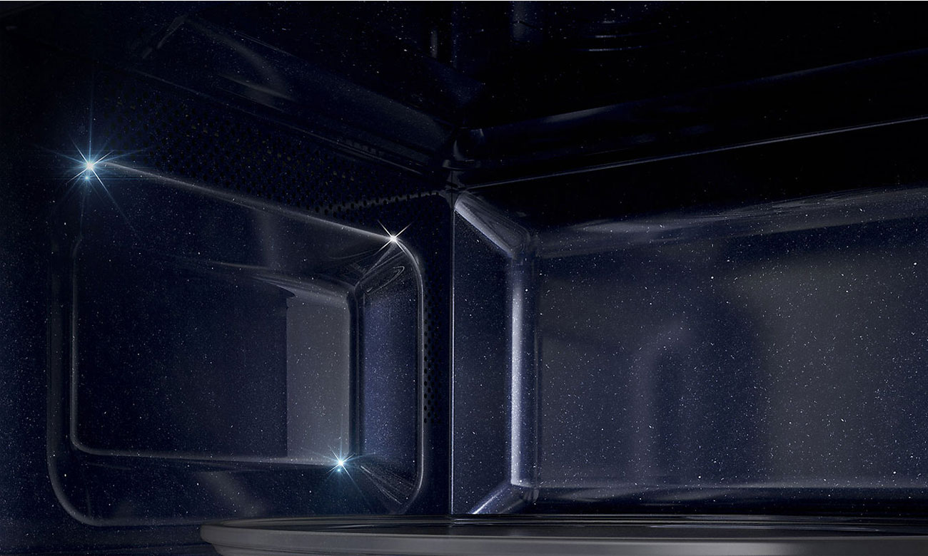 Керамічний інтер'єр у мікрохвильовій печі Samsung MS23K3513AS