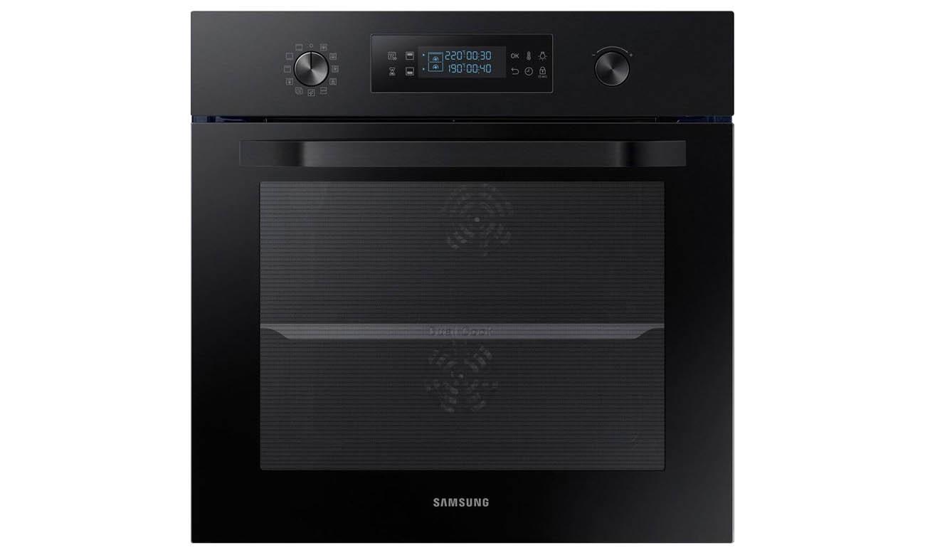 Cyfrowy panel sterowania w piekarniku Samsung NV66M3571BB