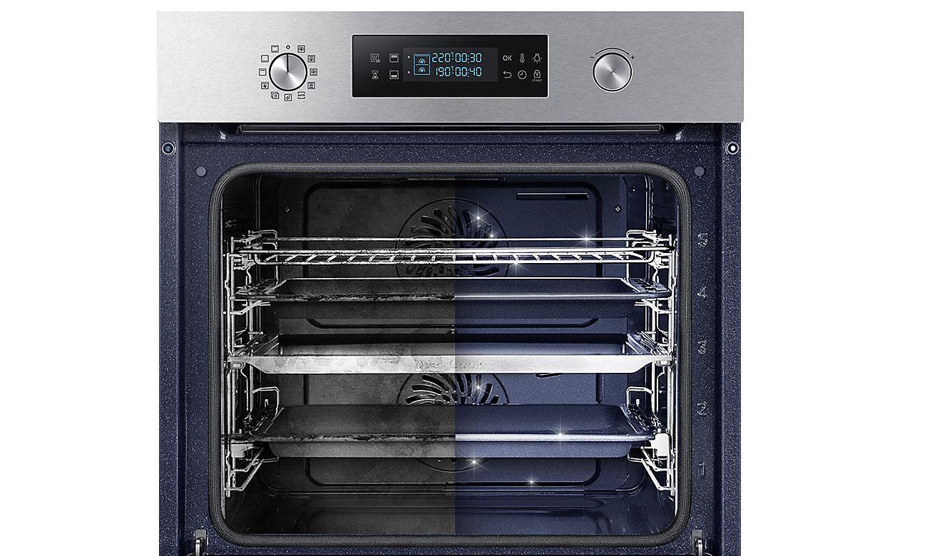czyszczenie pyrolityczne w piekarniku Samsung NV66M3571BS