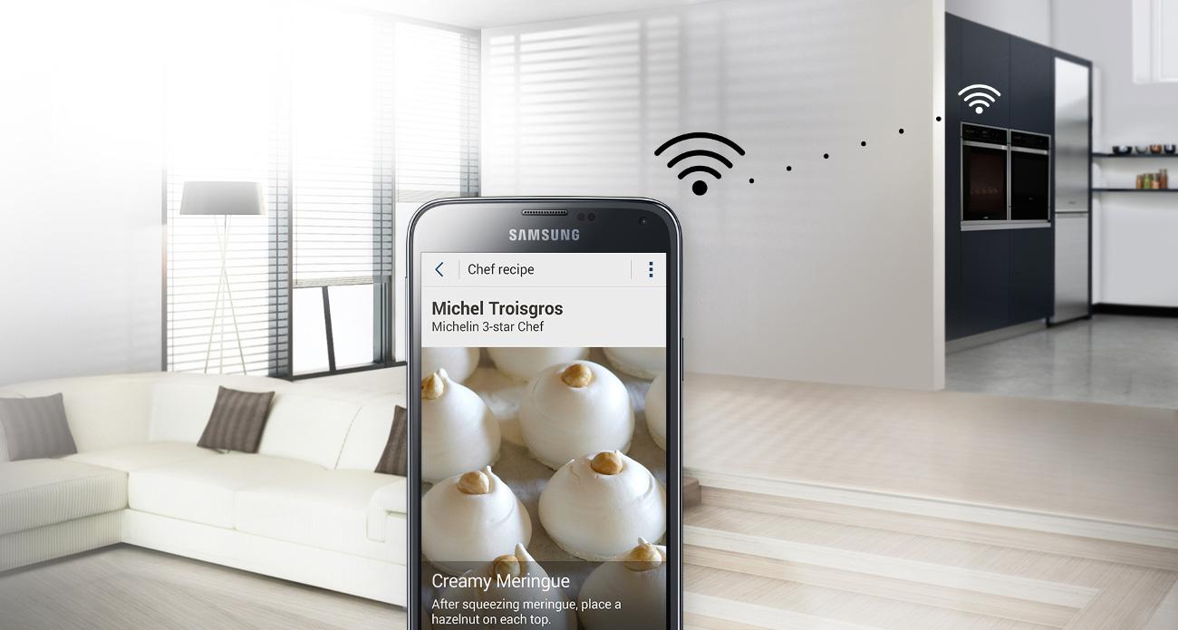 Samsung NV73J9770RS posiada ponad 80 ustawien