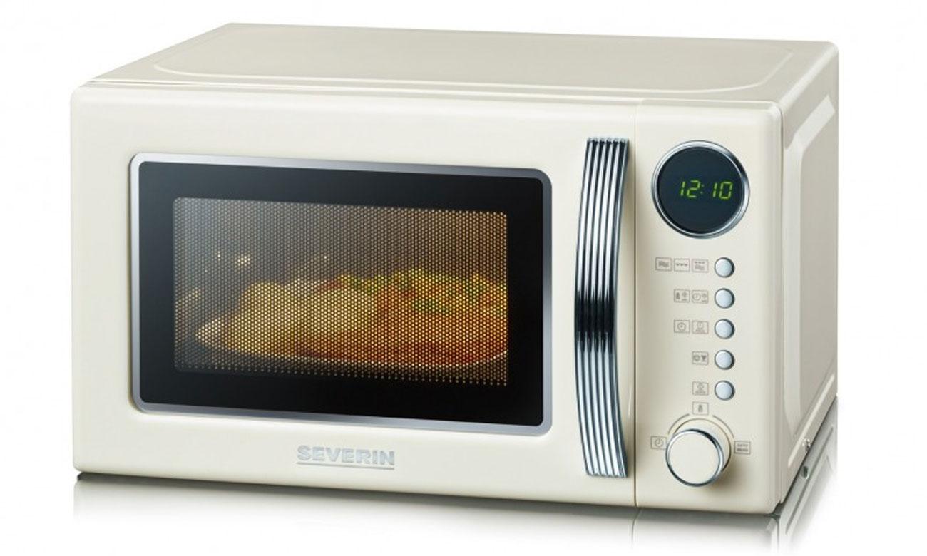 5 poziomów mocy w kuchence mikrofalowej Severin MW 7892
