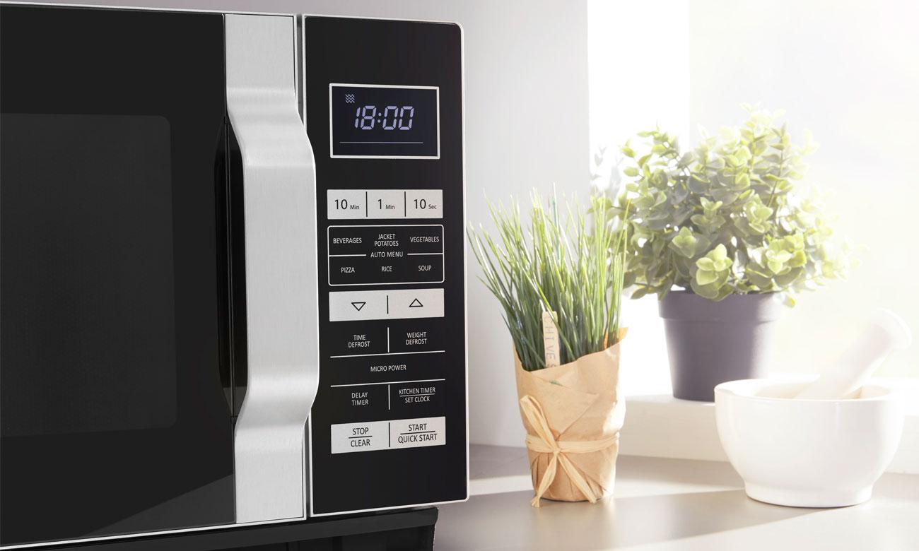 Sterowanie elektroniczne w kuchence mikrofalowej Sharp R360BK
