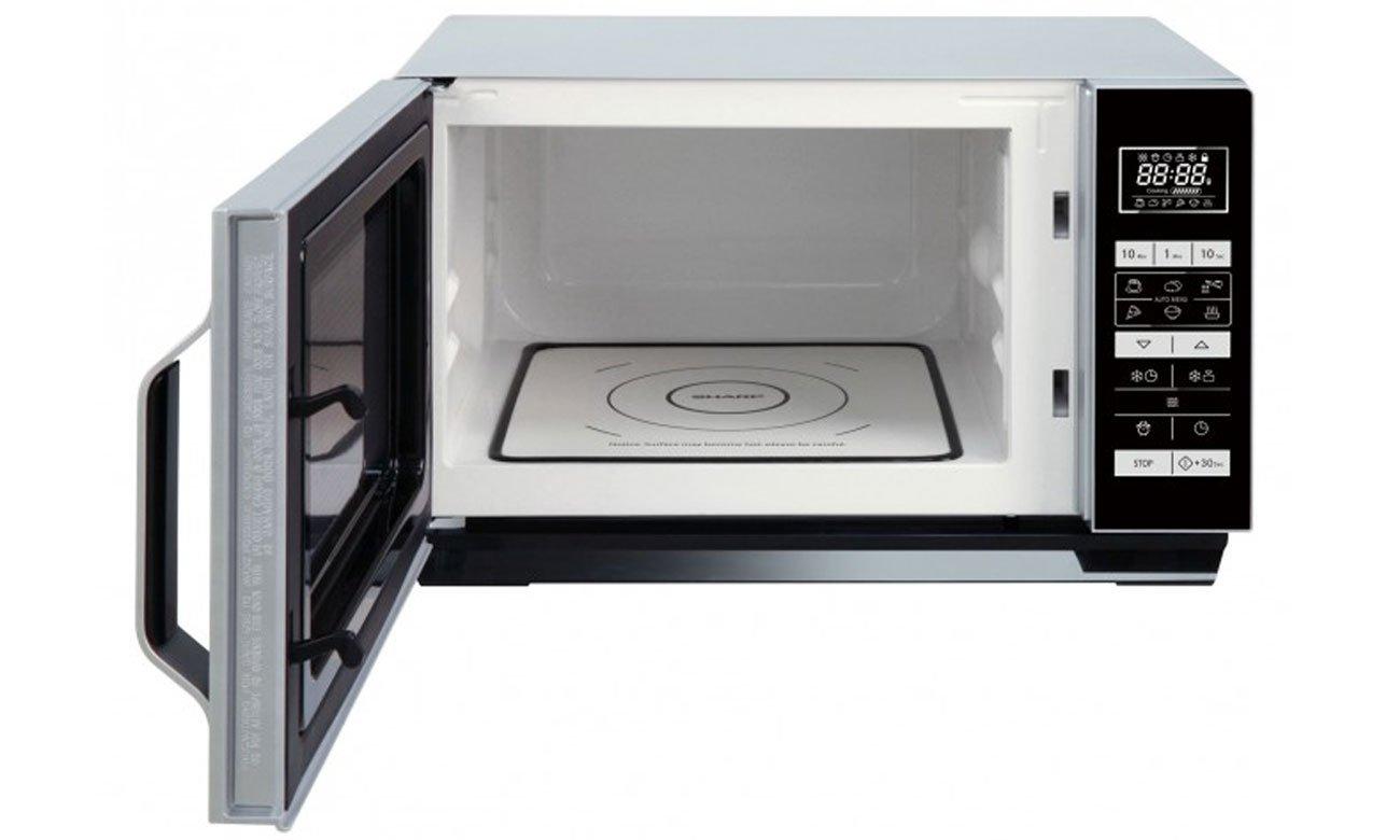 Kuchenka mikrofalowa bez talerza obrotowego Sharp R360S