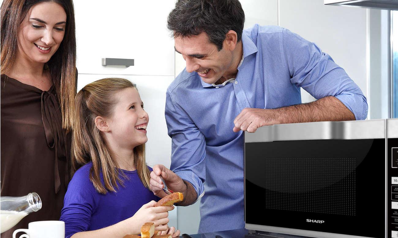 blokada rodzicielska w kuchence mikrofalowej Sharp R861