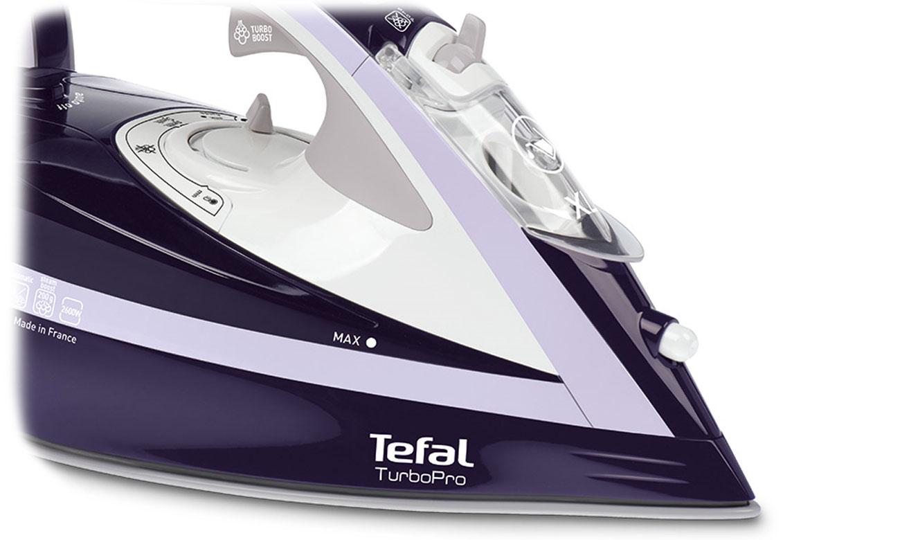 Żelazko Tefal Turbo Pro FV5615 z trybem eco oraz automatycznym wyłączeniem