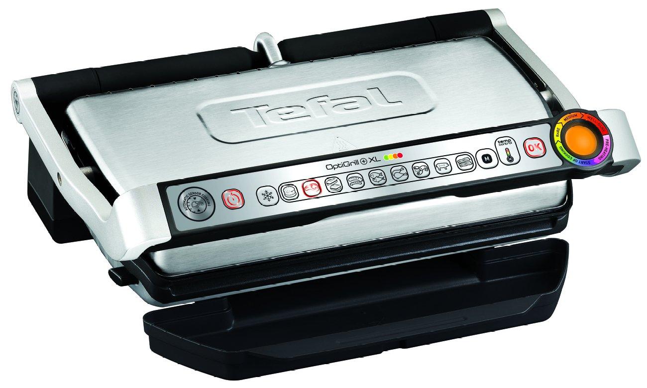 Багатофункціональний контактний гриль Tefal OptiGrill + XL GC724D12