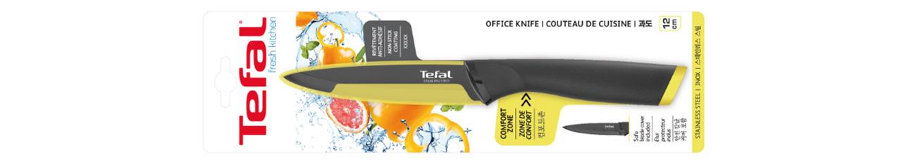 Noże do obierania warzyw i owoców Fresh Kitchen K0612314 skuteczne i bezpieczne obieranie
