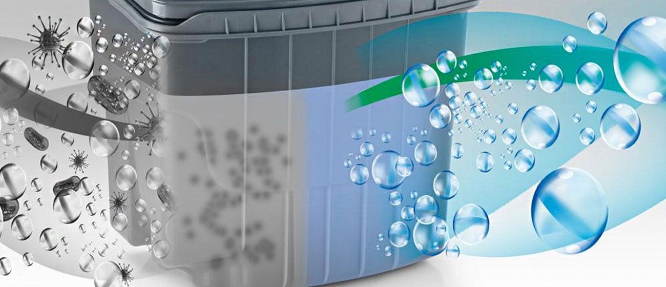 filtr HEPA w Zelmer Aquawelt Plus ZVC762ZT