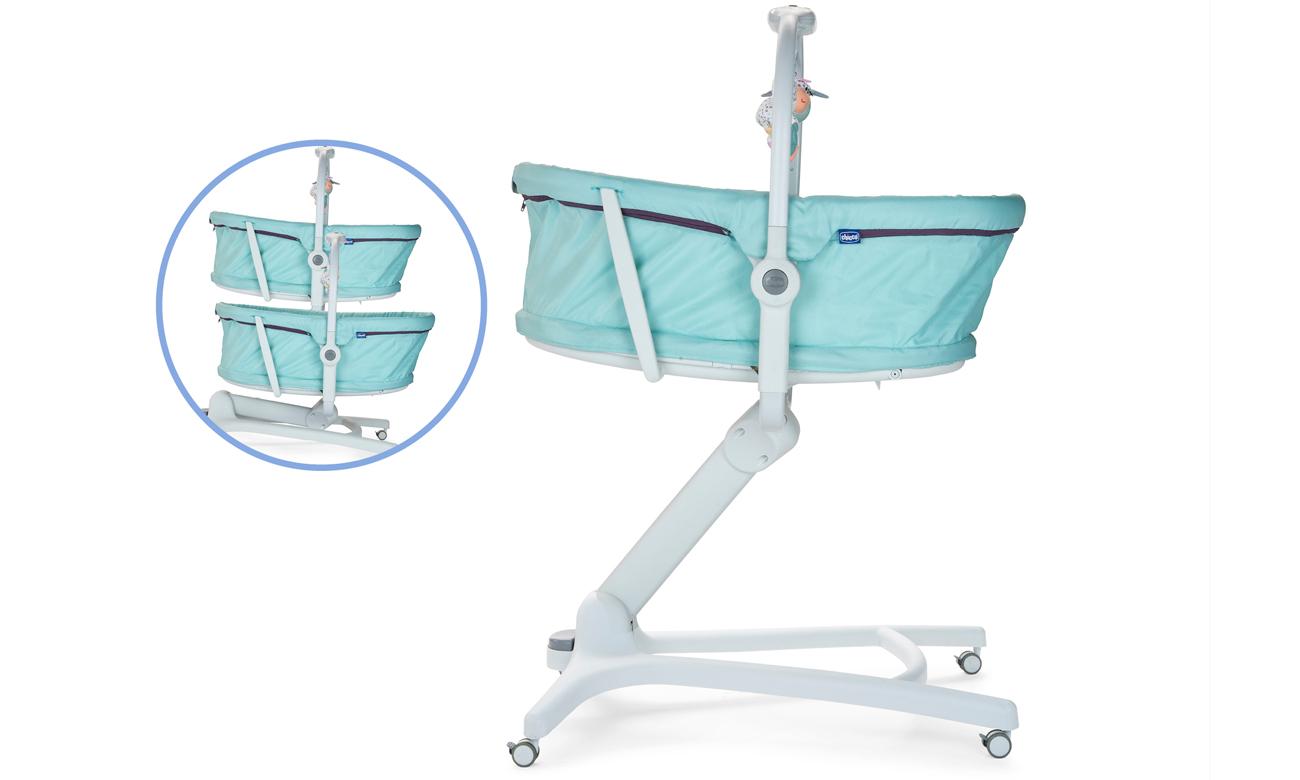 Baby Hug 4in1 leżaczek, krzesełko do karmienia Chicco