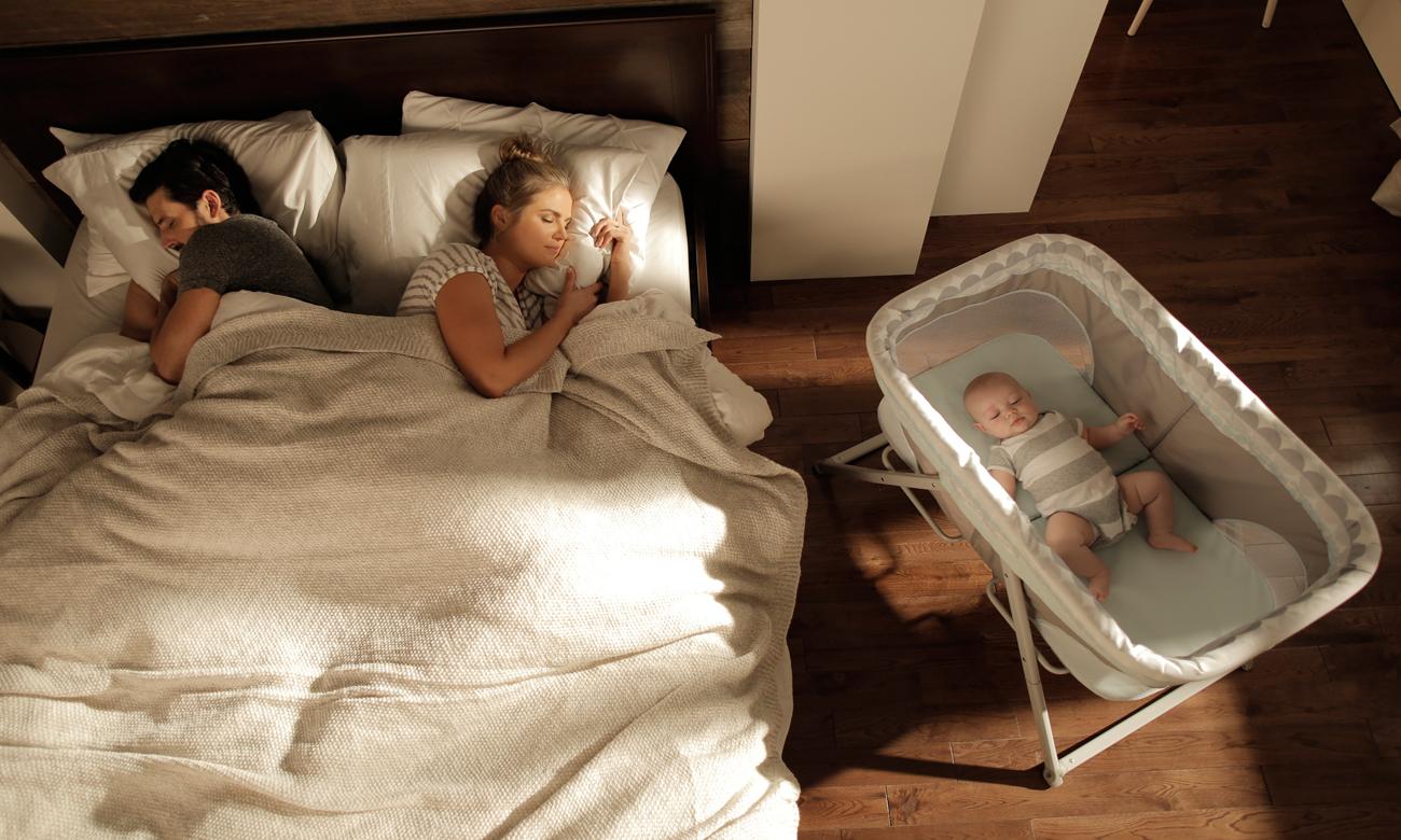 bright starts łóżeczko dla dzieci dostawne BS 10896