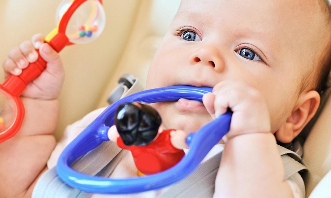 huśtawka dla niemowlat caretero indigo