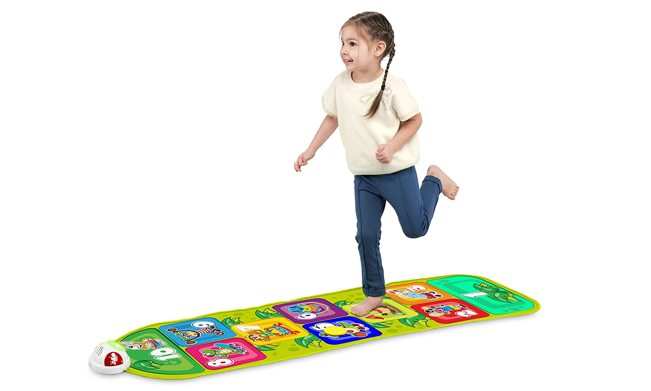 gra w klasy z interaktywną mata chicco