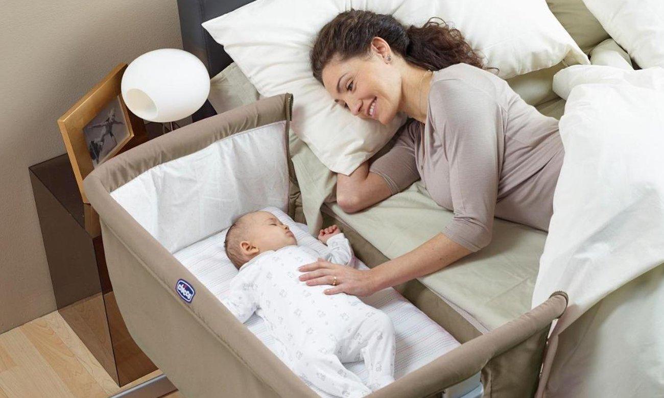 łóżeczko przenośne Chicco z kółkami