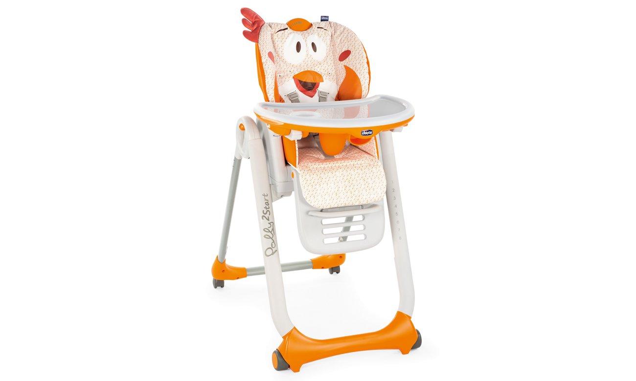 krzesło do karmienia chicco Polly 2 Starts Baby Elephant